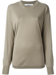 Givenchy Slit Sleeve Jumper Nude And Neutrals