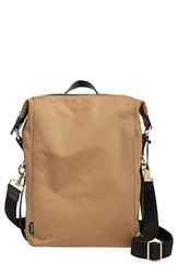 Skagen 'Agger' Coated Canvas Sling Bag Khaki