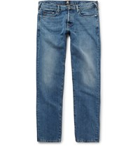 Paul Smith Slim Fit Washed Denim Jeans Blue