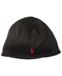 Polo Ralph Lauren Men's Active Fleece Cap Polo Black