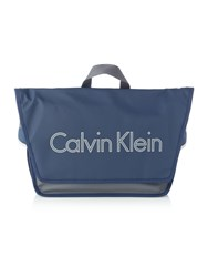 Calvin Klein Play Urban Messenger Bag With Flap Blue