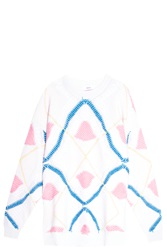 Barrie Argyll Sweater Pink