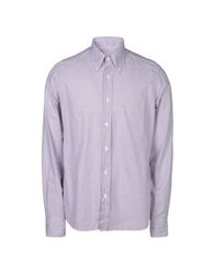 Lorenzini Long Sleeve Shirts Garnet
