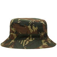 Fred Perry Reversible Bucket Hat Green