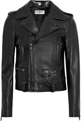 Saint Laurent Classic Perfecto Leather Biker Jacket Black