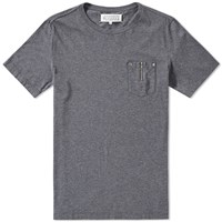 Maison Martin Margiela 10 Zip Pocket Tee Grey