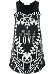 Givenchy I Believe In The Power Of Love Vest Top Black