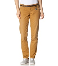 Khujo Chinos Mustard Gelb Yellow