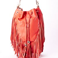 Dolce Vita Collection Handbags Amber Convertible Backpack W Fringespice
