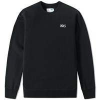 Asics X Reigning Champ Crew Sweat Black