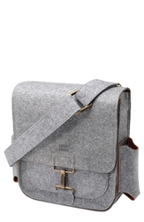Sons Of Trade 'Journey' Felt Messenger Pack Heathered Grey