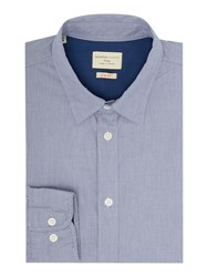 Selected Filson Micro Check Shirt Blue