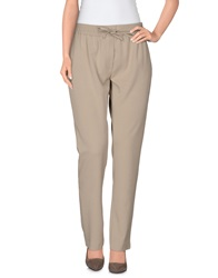 Paul And Joe Casual Pants Dove Grey