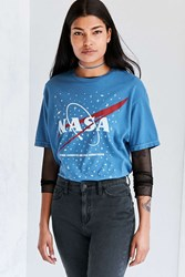 Urban Outfitters Nasa Tee Blue