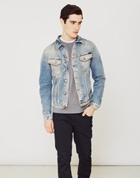 Nudie Jeans Co Billy Denim Jacket Navy