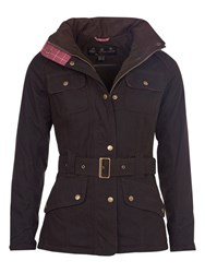 Barbour Equine Waxed Coat Olive