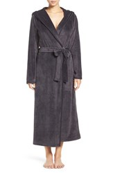 Nordstrom Women's Lingerie Hooded Plush Robe
