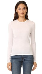 Tse Cashmere Crew Neck Sweater Milky Pink
