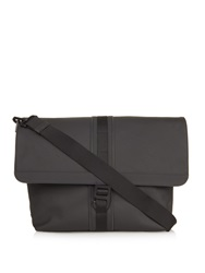 Mulberry Fleet Coated Canvas Messenger Bag
