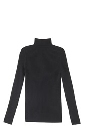Vince Ribbed Sweater Black