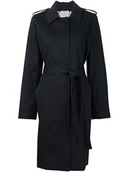 Lanvin Classic Trench Coat Blue
