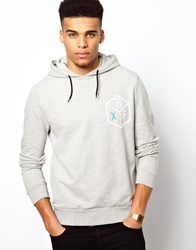 Boxfresh Hailyard Hoodie With Back Print Grey