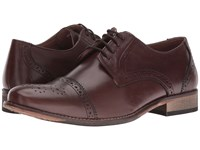 Lotus Hargreaves Brown Leather Men's Lace Up Wing Tip Shoes