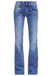 Pepe Jeans Olympia Relaxed Fit Jeans Z38 Bleached Denim
