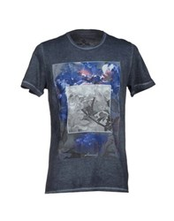 Cruciani Topwear T Shirts Men Dark Blue