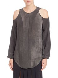 Tamara Mellon Cold Shoulder Blouse