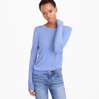 J.Crew Collection Featherweight Cashmere Boyfriend Crewneck Sweater