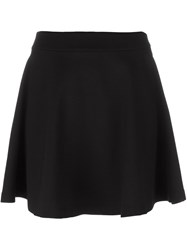 Mcq By Alexander Mcqueen A Line Mini Skirt Black