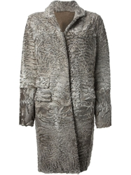 Liska 'Hyrmes' Coat Grey