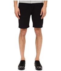 The Kooples Honey Comb Fleece Shorts Black Men's Shorts