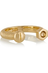Giles And Brother Gold Tone Ring