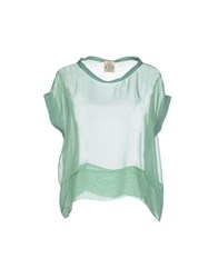 So Nice Shirts Blouses Women Bright Blue