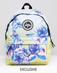 Hype Exclusive All Over Floral Backpack Multi
