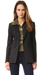 Veronica Beard Kuma Quilted Bomber Dickey Army Green