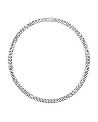 John Hardy Sterling Silver Dot Small Chain Necklace 18
