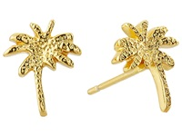 Gorjana Palm Tree Studs Gold Earring