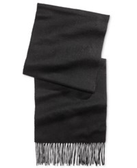 Club Room Men's Solid Cashmere Scarf Only At Macy's Black