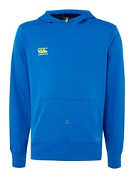 Canterbury Of New Zealand Mercury Tcr Fleece Hoodie Blue