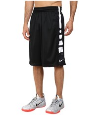 Nike Elite Stripe Short Black Wolf Grey White Men's Shorts