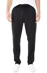 Alternative Apparel Men's Alternative 'Tuxedo' Organic Cotton Blend Sweatpants Black