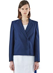 Acne Studios Dagan H Double Breasted Jacket Navy