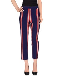 Stella Jean Trousers Casual Trousers Women Purple