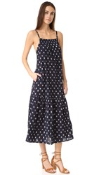 Current Elliott The Holly Dress Dotted Ikat