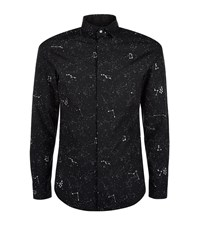 Diesel S Cure Cosmic Print Shirt Male Black