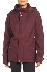 Burton Women's Jet Set Waterproof Jacket Sangria