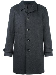 Hevo Single Breasted Coat Grey
